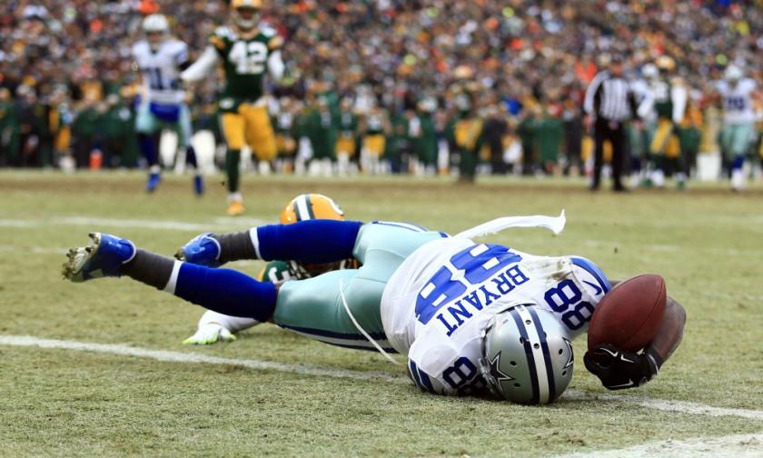 USP NFL: DIVISIONAL ROUND-DALLAS COWBOYS AT GREEN S FBN USA WI
